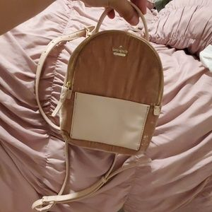 Kate spade mini pink backpack